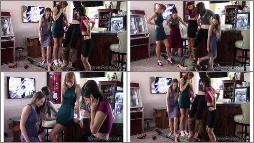 Xanas Foot Fantasies  The Five Girl Trampling Challenge  preview