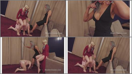 Footlicking –  Men Are Slaves – Worst Pony Ever, Part 2 –  Leya Falcon and Goddess Karley