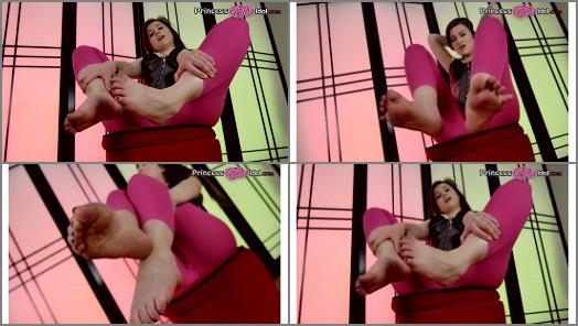 Jerk to my feet – Princess Ellie Idol – EMBRACING YOUR FOOT ADDICTION