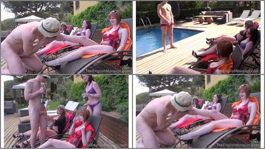 Cat – The English Mansion – Girls in Heat – Complete Film –  Lady Nina Birch, Miss Vivienne lAmour & Miss Zara