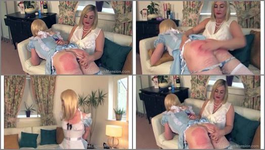 The English Mansion  OTK Girly Plaything  Complete Film   Lady Nina Birch  Miss Jessica Dee preview