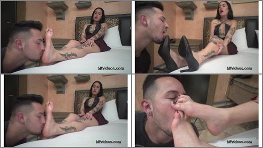 BFF Videos  Goddess Dani Skyli First Foot Worship Pt1 preview