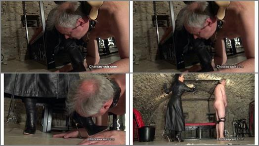 ChateauCuir  The price of leather worship part 1   Fetish Liza  preview