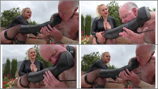 Femme Fatale Films  Stiletto Boot Prints  Super HD  Part 1   Mistress Fox preview