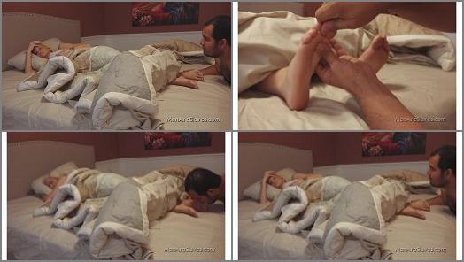 Toe massage – Halle Von – Good Morning Princess