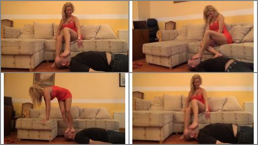 Lady Rebecca  Feed The Flame  CRUEL Foot Domination With Facetrampling Finish preview