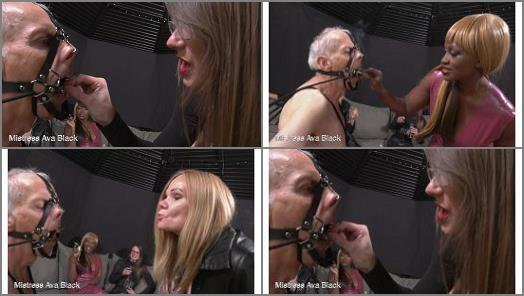 MISTRESS AVA BLACK  Bathed in our spit  Part Two  preview