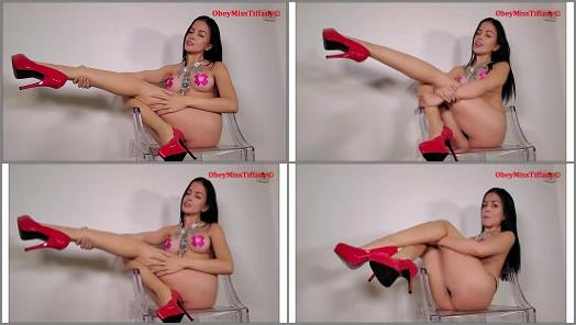 Obey Miss Tiffany  My legs own you preview