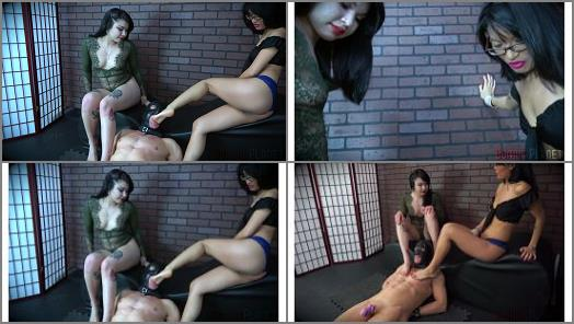 Domina Planet  Foot Face   Goddesses Raevyn Rose and Asia Perez  preview