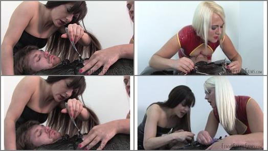 Mummification – Femme Fatale Films – Spittoon Wrap – Super HD – Complete Film –  Divine Mistress Heather and Lady Mia Harrington
