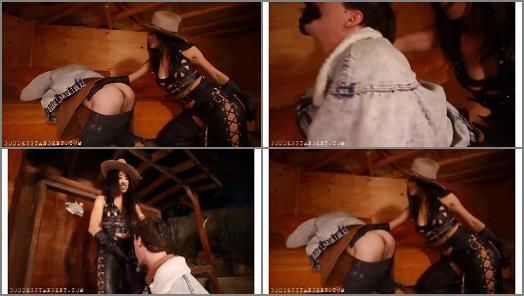 Goddess Tangent World of Femdom  Up Buttfuck Creek  a femdom cowboy movie PART 1  preview