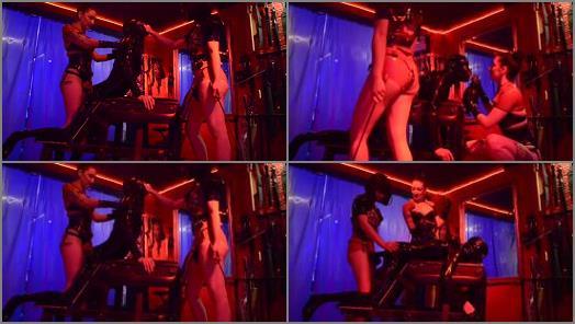 Ass Worship –  Cybill Troy FemDom Anti-Sex League – FemDom Strap-On Spitroast (Cybill Troy & Mistress Opium)