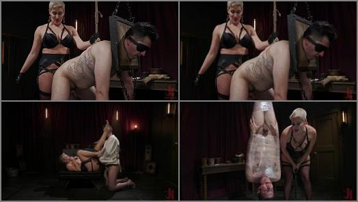 Suspension –  Divine Bitches – The Goddess and The Novice: Ryan Keely Rules Over Papa Georgio