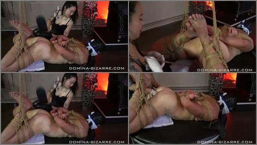 Domina-bizarre –  Domina Bizarre – Shibari Bondage Session – Teil 3