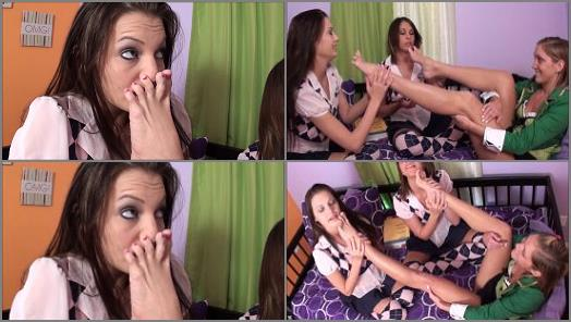 Foot sniffing – First Time Foot Smellers – Smell for Good Luck