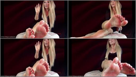 Goddess Tatyana  Foot Sissy Dildo Training preview