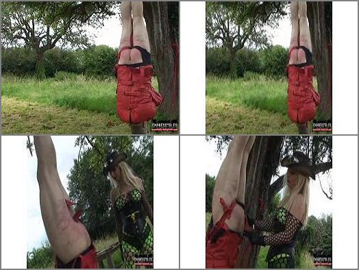 Straitjacket – KELLY KALASHNIK MP4 VIDEOS – SUSPENDED FROM THE TREE & PUNISHED