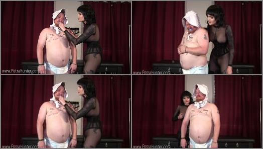 Mistress Petra Hunter  Humiliated for Mistress Petras Amusement  preview