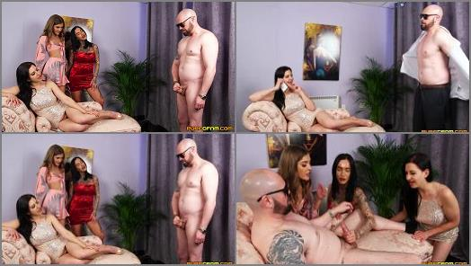 Milking –  Pure CFNM – Mobster's Bodyguard –  Chantelle Fox, Rhiannon Ryder and Tindra Frost