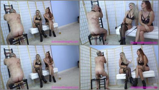 Young Mistress –  THE MEAN GIRLS – Geezer And The Dick –  Princess Mia and Goddess Platinum