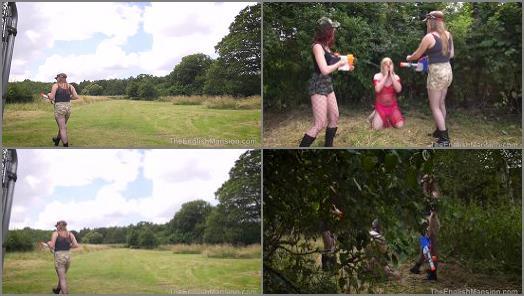 The English Mansion  Slave Hunt  Capture Pt2  Part 1   Mistress Katerina and Princess Bella preview