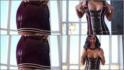 Femdom Pov Online –  Vancouver Kinky Dominatrix – Drool Over My Latex