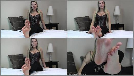 Feet JOI - Amyleen Moore - Foot worship failure