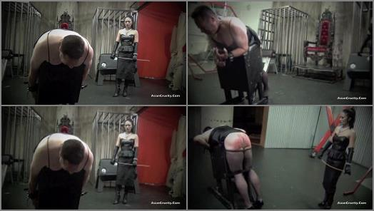 Asian Cruelty  A CRIMSON CANING   Goddess Miki  preview