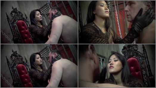 Asian Cruelty  TRAPPED AND SLAPPED   Goddess Angelina  preview