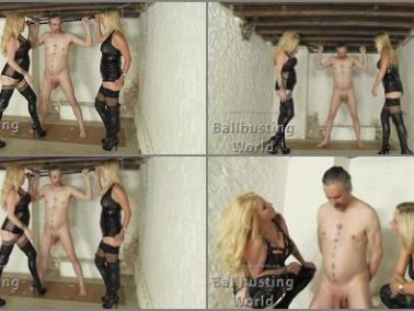 Ball Abuse -  Ballbusting World PPV – Ballbusting: Loula Kicks Balls for the 1st Time BB1404