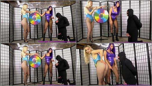 Brat Princess 2  Kat and Natalya  Humiliation Spin Game  preview