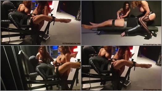 Face Sitting –  Danish Femdom – Abusing her slave