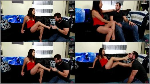 DatesGoneWrong  Indica Fetish Turns Cheating Husband Into Her Foot Slave  preview