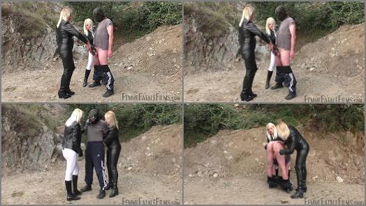 Trampling –  Femme Fatale Films – His Comeuppance – Super HD – Complete Film –  Divine Mistress Heather and Mistress Johanna