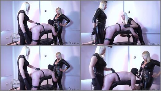 2 Dommes –  Femme Fatale Films – Ramming It In – Super HD – Part 2 –  Divine Mistress Heather and Mistress Johanna