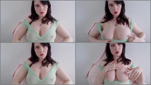 Big Tits –  Fox Smoulder Fetish Clips – ASMR Tit Play 2