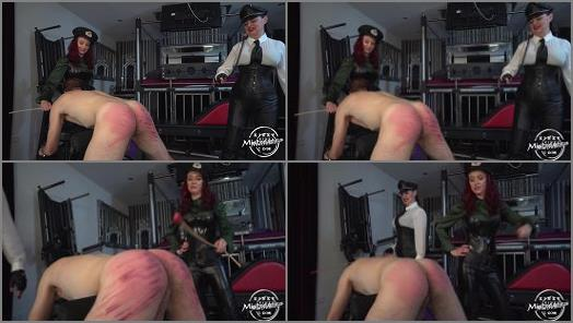 Kinky Mistresses  The Caning Slut Starring Dominatrix Dinah and Lady Fatale  preview