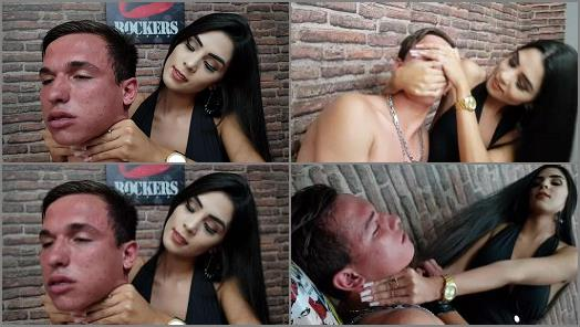 Hand Fetish –  MF SMOTHER BOYS – LETHAL HANDS   BIG HANDS   GIANT FINGERNAILS = ILL-TREATED SLAVE – VOL # 47 – NEW TOP GIRL CAROL PAIVA