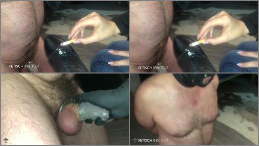 Mistress Blackdiamoond  Chastity slave humiliation and cum eating  preview