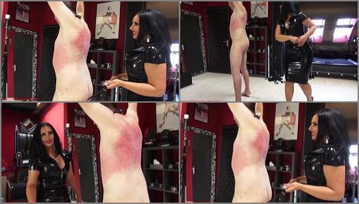 Mistress Ezada Sinn  Hot rubber flogging  preview