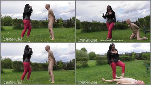 Mistress Ezada Sinn  The perfect target for My bare feet  preview