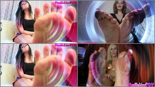 Toe wiggling – Mistress Zaida – Kiss My Feet! (A Mesmerizing Brainwash Experience)