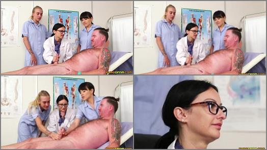 Cumshot –  Pure CFNM – Nurses Do It Better –  Cassie Clarke, Lucy Love, Tamara Phillips
