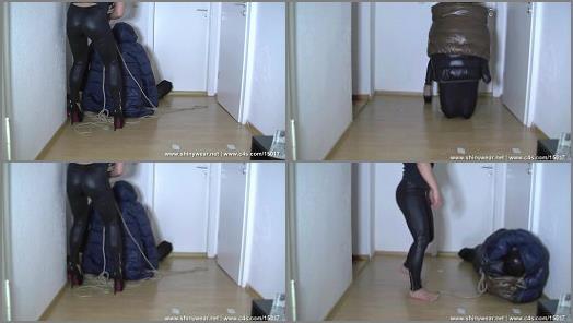 Nylon Encasement – SpandexPlanet Clips Store – Miss Cedis bagged slave