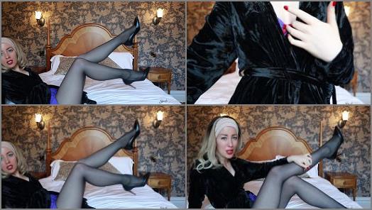 Masturbation Instruction –  Spoilt Princess Grace – Edge To My Legs Loser