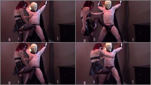 Villa Aspasia  Ballbusting My painslut with masked Breathplay  preview