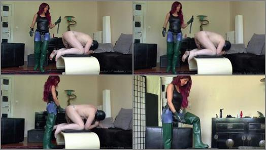 Jeans Fetish – Absolute Femdom – Loser Fuck In Rubber Waders