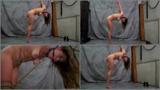 Tiptoe –  Captive Chrissy Marie – Strict Strappado Predicament