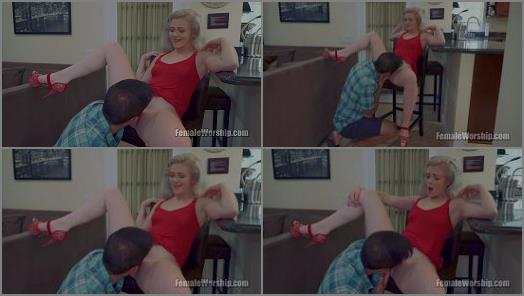Oral Sex –  Female Worship – Come Here, Kneel, Lick –  Kay Carter and Jon Rogue
