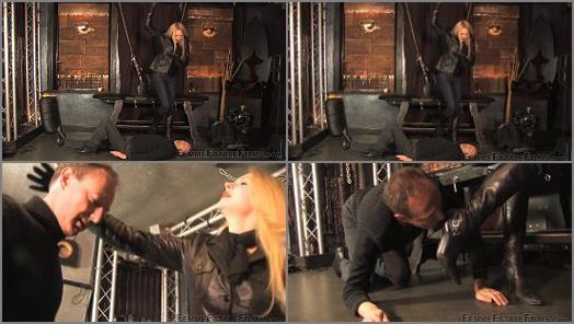 : Femme Fatale Films –  Femme Fatale Films – Boot Stalker – Super HD – Complete Film –  Mistress Eleise de Lacy